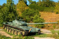 Soviet main battle tank T-72. Royalty Free Stock Photography