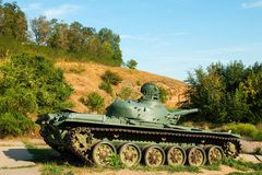 Soviet main battle tank T-72. Royalty Free Stock Photos