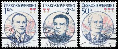 Soviet Marshal Stock Image