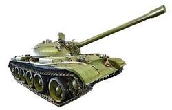 Soviet medium tank T-55.isolated Royalty Free Stock Photo