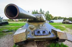 T34-85. Soviet medium tank T34-85 Royalty Free Stock Photo