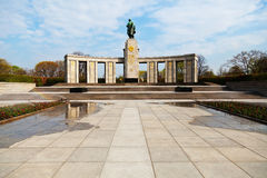The Soviet Memorial in the Tiergarten, Berlin Royalty Free Stock Image