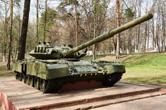 Soviet middle tank T-80 Royalty Free Stock Photos