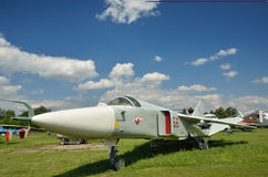 Soviet military aircraft Stock Image