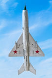 Soviet Military airplane Royalty Free Stock Image