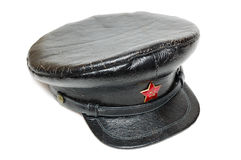 Soviet military cap Royalty Free Stock Image