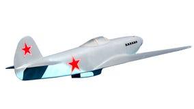 Soviet military fighter Yak-3 Stock Photos
