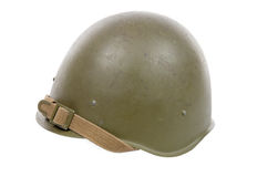 Soviet military helmet Royalty Free Stock Photo