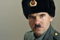 Soviet military officer Royalty Free Stock Photo