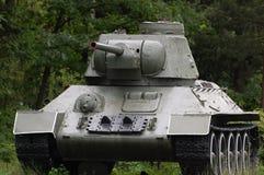Soviet military tank Stock Photo