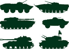 Soviet military vehicles Stock Photos