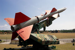 Soviet Missile in Cuba Royalty Free Stock Images