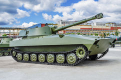 Soviet 122 mm self-propelled howitzer 2S1 Stock Photography
