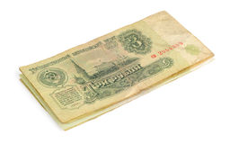 Soviet money Stock Photography