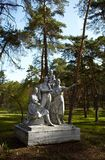 Soviet monument Stock Photos