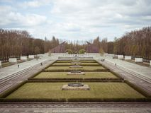 Soviet monument in the Berlin Royalty Free Stock Image
