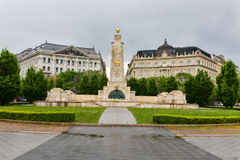 Soviet monument in Budapest Hungary Royalty Free Stock Photo