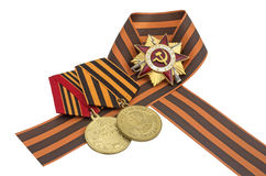 Soviet Order of the Great Patriotic War Royalty Free Stock Photography