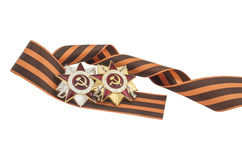 Soviet Order of the Great Patriotic War Stock Photos