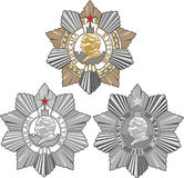 Soviet Order of Kutuzov Royalty Free Stock Images