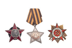 Soviet Order. Of supreme valor during the war Stock Image