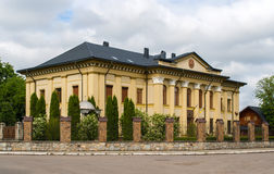 Soviet palace in Kolomyia, Ukraine Stock Images
