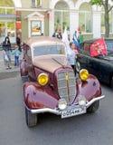 Soviet passenger car of 1930s GAZ M1 Stock Photo