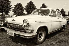 Soviet passenger midsize car GAZ M21 Volga Stock Photo