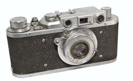 Soviet photocamera FED-NKVD Stock Photos