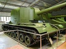 Soviet prototype self-propelled gun SU-100Y Stock Image