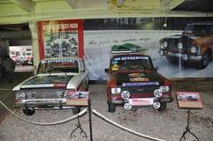 Soviet racing car Moskvitch Stock Photo