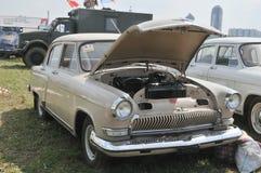 Soviet retro car GAZ-21  Stock Photos
