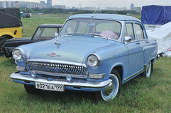 Soviet retro car GAZ-21  Stock Images