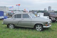 Soviet retro car GAZ-21  Stock Photography