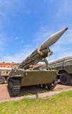 Soviet rocket launcher 2P16 of rocket system 2K6 Luna Royalty Free Stock Image