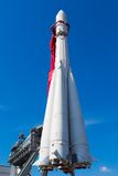 Soviet rocket Royalty Free Stock Photo