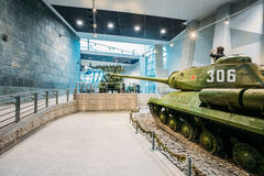 Soviet russian heavy tank IS-2 In The Belarusian Museum Of The G Royalty Free Stock Photos