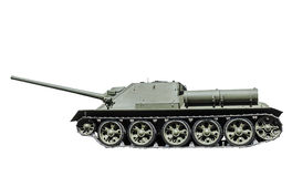 Soviet self-propelled artillery Royalty Free Stock Photo