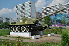Soviet self-propelled gun Royalty Free Stock Photography