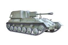 Soviet self-propelled gun Royalty Free Stock Photo
