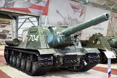 Free Soviet Self-propelled Gun ISU-152 Royalty Free Stock Images - 160478189