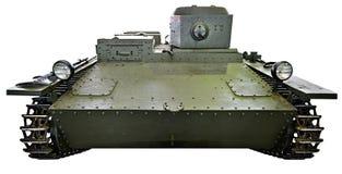 Soviet small amphibious tank T-38  isolated Stock Photography