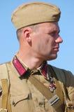 Soviet soldier Royalty Free Stock Photos