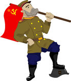 Soviet soldier Royalty Free Stock Photo