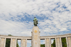 Soviet soldier monument Royalty Free Stock Images