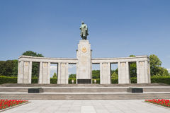 Soviet soldier monument - Berlin Germany Stock Photo