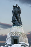 Soviet soldier monument , Berlin, Germany Stock Image