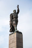 Soviet soldier monument in Bulgaria Royalty Free Stock Photos