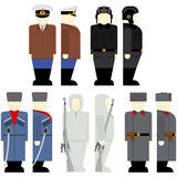 Soviet soldiers since the 2nd World War-2 Royalty Free Stock Photography