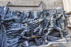 Free Soviet Soldiers World War 2 Monument Kiev Ukraine Stock Photo - 65317780